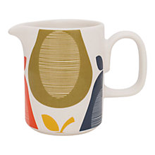 Buy Orla Kiely Pear Milk Jug, 0.35L Online at johnlewis.com