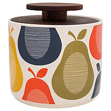 Buy Orla Kiely Pear Storage Jar, 1L Online at johnlewis.com