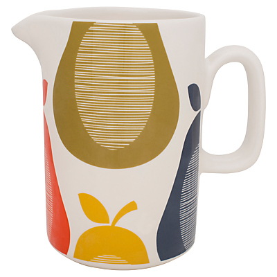 Orla Kiely Pear Pitcher, 1.5L