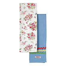Buy Cath Kidston Cranham Tea Towels, Set of 2 Online at johnlewis.com