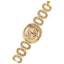 Buy Susan Caplan Vintage 1970's Vendome Gold Plated Cocktail Watch, Gold Online at johnlewis.com