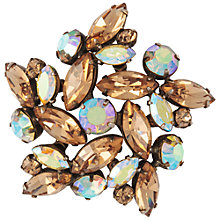 Buy Susan Caplan Vintage 1950's Regency Topaz Crystal Star Brooch, Blue Online at johnlewis.com