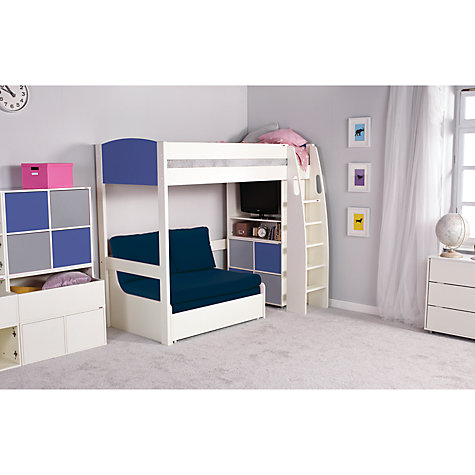 Wooden High Sleeper Bed With Desk And Futon – High Sleeper Bed with Desk and Sofa Bed