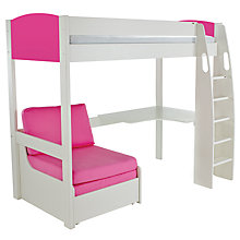Buy Stompa Uno S High-Sleeper Bed with Corner Desk and Chair Bed Online at johnlewis.com