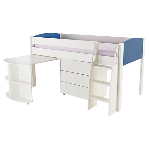 Buy Stompa Uno S Plus Mid Sleeper With Pull Out Desk And 3