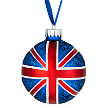 Buy John Lewis Union Jack Bauble Online at johnlewis.com