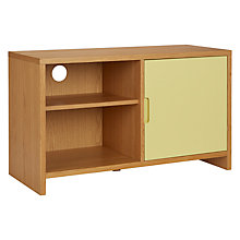 Buy House by John Lewis Oxford 1 x 2 Unit with Shelf and Cupboard Door, Dandelion / Oak Online at johnlewis.com