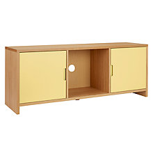 Buy House by John Lewis Oxford 3 x 1 Unit with 2 Doors, Dandelion / Oak Online at johnlewis.com