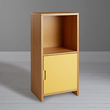 Buy House by John Lewis Oxford 1 x 2 Unit with Door, Dandelion / Oak Online at johnlewis.com