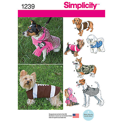 Sewing Patterns to Make Dog Coats - Pets - TheNest.com