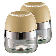 Buy Wesco Spice Storage Canisters, Set of 2 Online at johnlewis.com