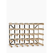 Buy Traditional Wine Rack Co. Light Oak Wine Rack, 30 Bottle Online at johnlewis.com
