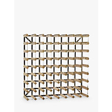 Buy Traditional Wine Rack Co. Light Oak Wine Rack, 27 Bottle Online at johnlewis.com