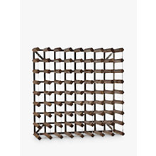 Buy Traditional Wine Rack Co. Redwood Wine Rack, 72 Bottle, Dark Wood, FSC Certified Online at johnlewis.com