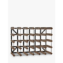 Buy Traditional Wine Rack Co. Redwood Wine Rack, 30 Bottle, Dark Wood, FSC Certified Online at johnlewis.com