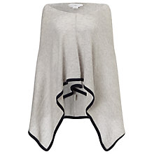 Buy Charli Chelsea Cashmere Poncho, Silver Online at johnlewis.com