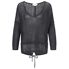 Buy Charli Phyllis Linen Drawstring Jumper Online at johnlewis.com
