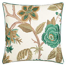Buy Zoffany Anjolie Cushion, Jade Online at johnlewis.com