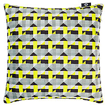 Buy Kirkby Design by Romo Piccadilly Cushion, Lime Online at johnlewis.com