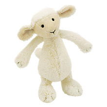 Buy Jellycat Bashful Lamb Soft Toy, Small Online at johnlewis.com