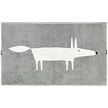 Buy Scion Mr. Fox Bath Mat, Grey Online at johnlewis.com