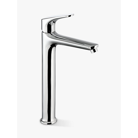 buy john lewis eden tall basin monobloc mixer tap chrome online at