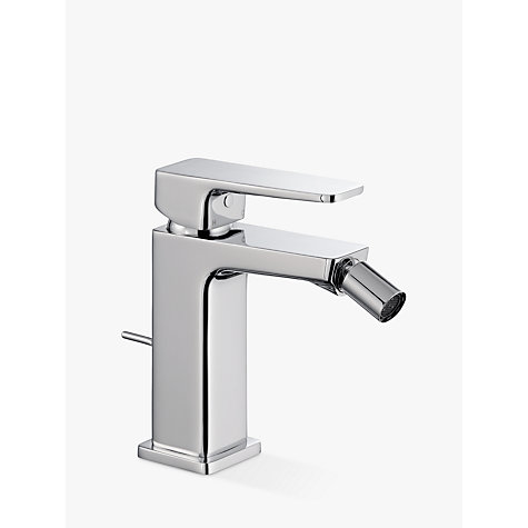 buy john lewis spey bidet monobloc mixer tap with pop up waste chrome