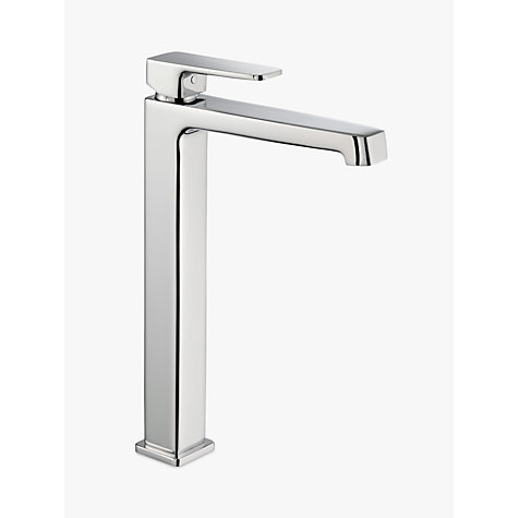 buy john lewis spey tall basin monobloc mixer tap chrome online at