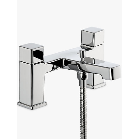 buy john lewis spey deck mounted bath and shower bathroom mixer tap chrome john lewis. Black Bedroom Furniture Sets. Home Design Ideas