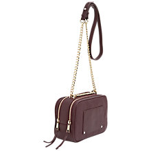Buy French Connection Marlie Crossbody Bag, Shiraz Online at johnlewis.com