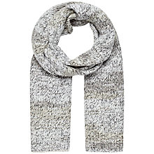 Buy French Connection Twinkle Mix Scarf, Winter White Online at johnlewis.com