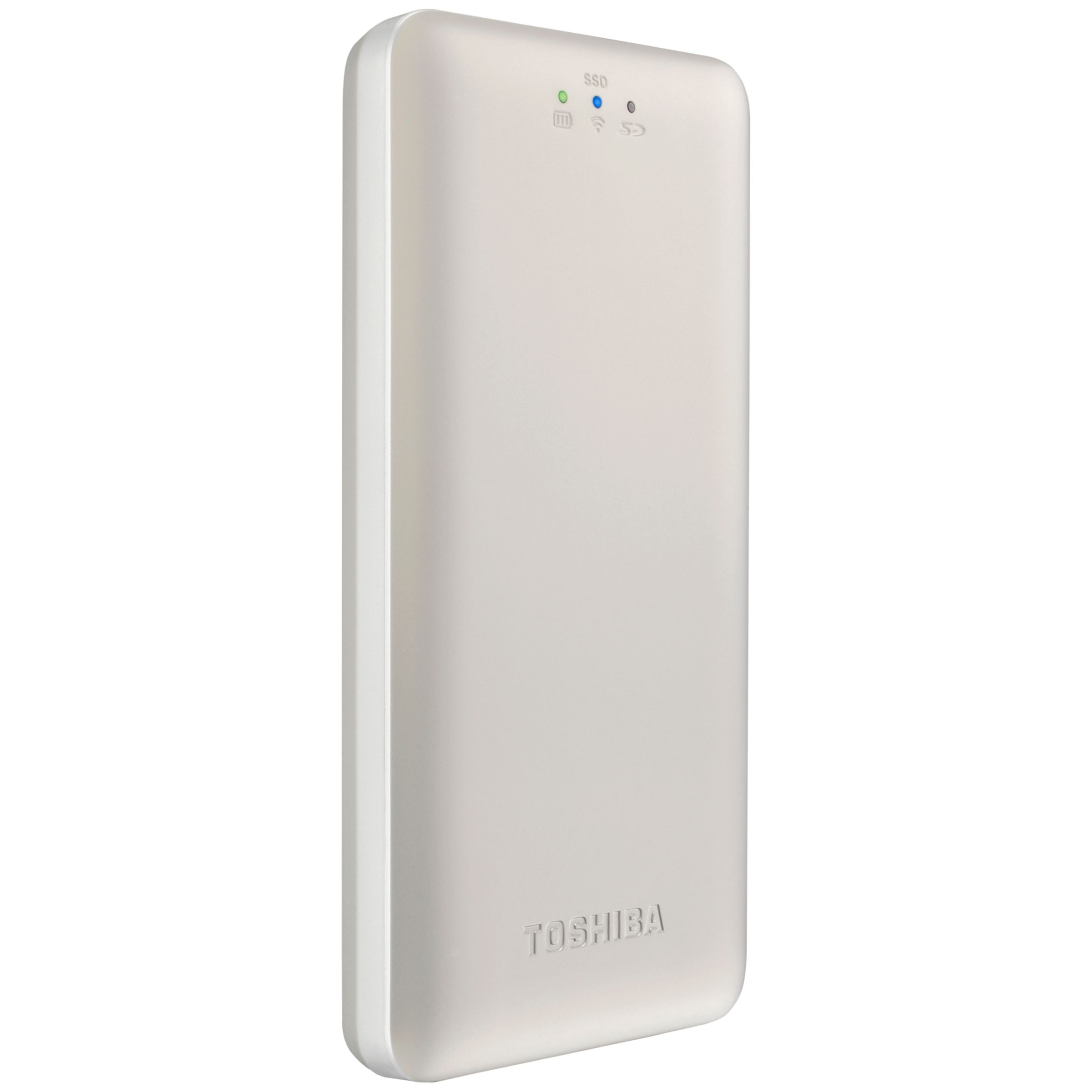 Toshiba Toshiba Canvio AeroMobile Wireless Portable Solid State Drive, USB 3.0, 128GB, Gold
