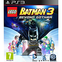 Buy LEGO Batman 3: Beyond Gotham, PS3 Online at johnlewis.com