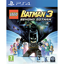 Buy LEGO Batman 3: Beyond Gotham, PS4 Online at johnlewis.com