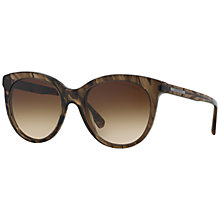 Buy Giorgio Armani AR8041 Round Framed Sunglasses Online at johnlewis.com