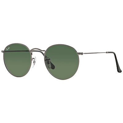 Unique Retro Vintage Style Sunglasses & Eyeglasses Ray-Ban RB3447 Round Sunglasses Matte Gunmetal £100.00 AT vintagedancer.com