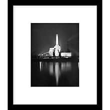 Buy Getty Images Gallery Battersea Power Station Framed Print, 57 x 49cm Online at johnlewis.com