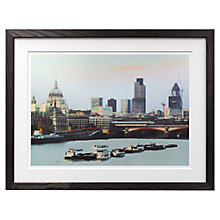 Buy Yvonne McSherry - London Waterloo Sunset Framed Digital Print, 59 x 76cm Online at johnlewis.com