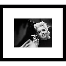 Buy Getty Images Gallery Marilyn Moment Framed Print, 49 x 57cm Online at johnlewis.com