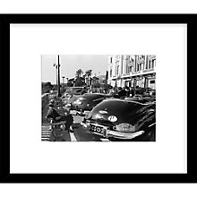 Buy Getty Images Gallery Rally Elegance Framed Print, 57 x 49cm Online at johnlewis.com