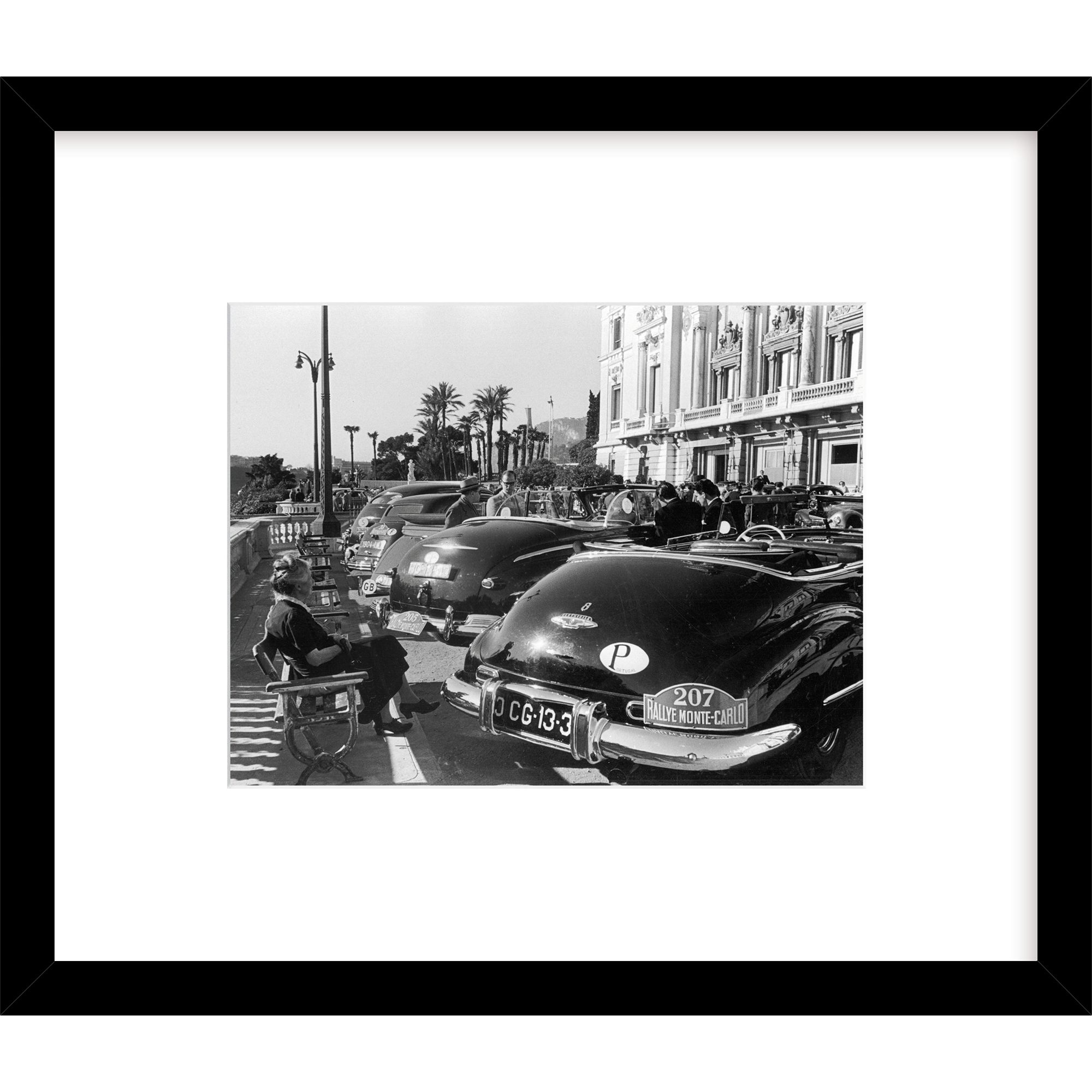 Getty Images Gallery Getty Images Gallery Rally Elegance Framed Print, 57 x 49cm
