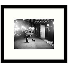 Buy Getty Images Gallery Commissionaire's Dog Framed Print, 49 x 57cm Online at johnlewis.com
