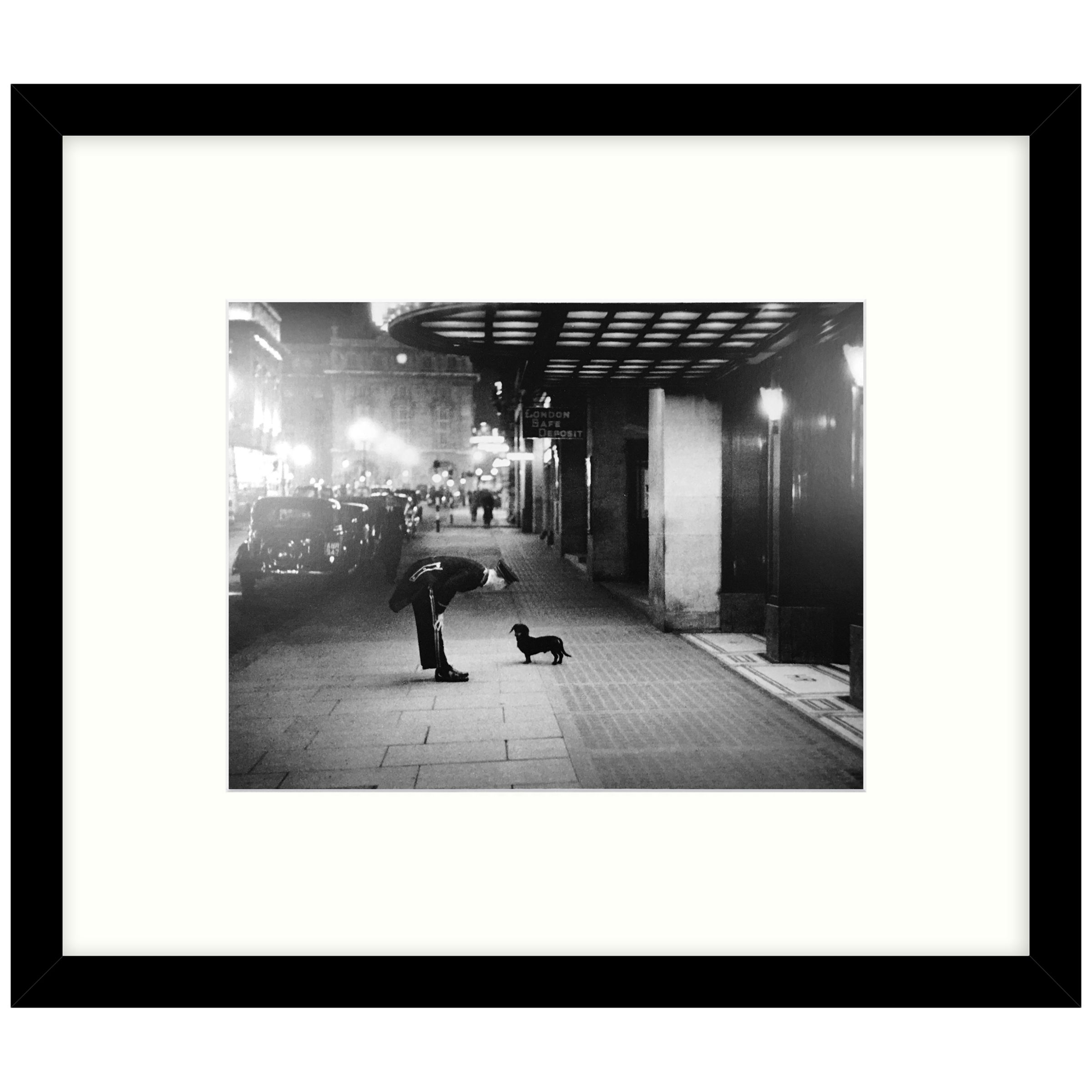 Getty Images Gallery Getty Images Gallery Commissionaire's Dog Framed Print, 49 x 57cm