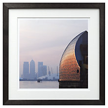 Buy Yvonne McSherry - Thames Barrier Digital Print, 56 x 56cm Online at johnlewis.com