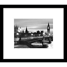 Buy Getty Images Gallery Parliament By Night Framed Print, 49 x 59cm Online at johnlewis.com