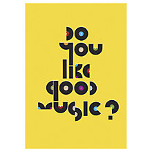 Buy Anthony Peters - Good Music Unframed Print, 70 x 50cm Online at johnlewis.com