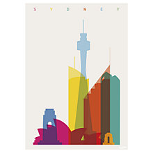Buy Yoni Alter - Sydney Unframed Print, 70 x 50cm Online at johnlewis.com
