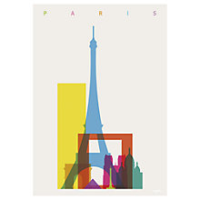 Buy Yoni Alter - Paris Unframed Print, 70 x 50cm Online at johnlewis.com