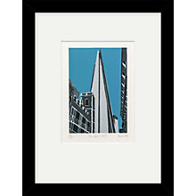 Buy Jennie Ing - The Shard Limited Edition Framed Linocut, 44 x 34cm Online at johnlewis.com