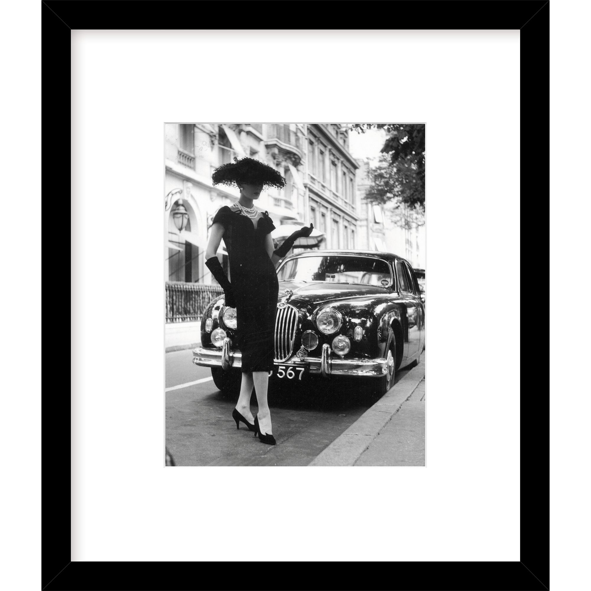 Getty Images Gallery Getty Images Gallery Elegant Daywear Framed Print, H57 x W49cm